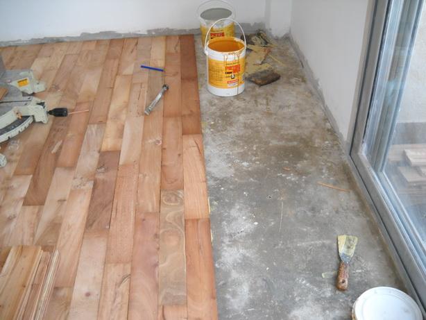 Maderas para piso parquet entablonadoalberplast pulido - Como calentar un piso de forma economica ...