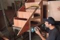 haciendo mueble a medida madera