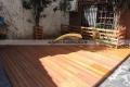 piso deck y cerca