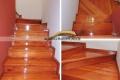 pulido y plastificado de escalera