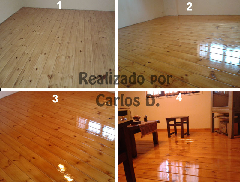 Como plastificar un piso de madera plastificar uno mismo - Como colocar piso flotante paso a paso ...