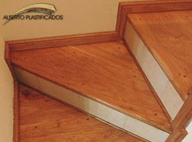 escaleras de madera carpintería