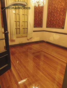 piso de pinotea sobre sotano