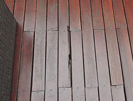 reparación de decks