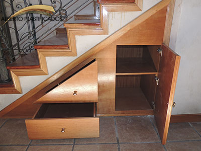 mueble de madera a medida