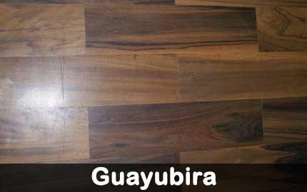 piso de guayubira