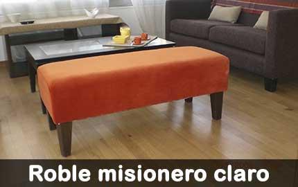 piso de roble misionero claro