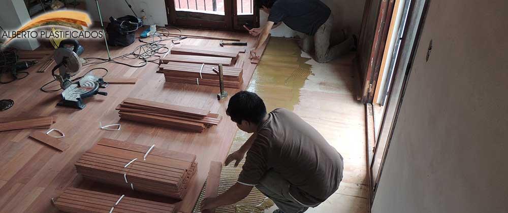 Te ir piso de madera tutorial hecho por alberto plastificadosalberplast pulido y plastificado - Piso que se pega ...