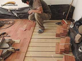 colocacion de pisos de madera